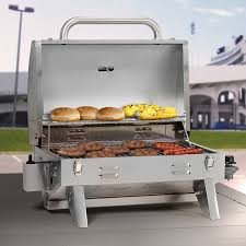Topgrill Patio Furniture by Aussie 205 Stainless Steel Tabletop Gas Grill Review Divinegrill Com