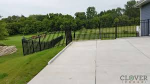 ornamental iron and aluminum fence panels