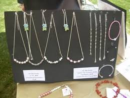 necklace bracelet display images It had to be a cheap easy portable versatile jewelry display jpg