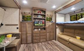 rv bunkhouse floor plans 81 rv di te table also fifth wheel floor plans with front toy