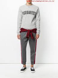 beliebte marken men u0027s 858m grey melange dsquared2 shirt tie waist