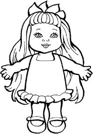 doll coloring pages gianfreda net 15452 gianfreda net