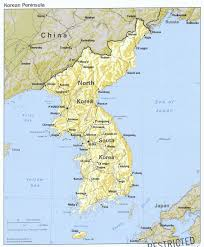 Asia Geography Map Asian Regional Maps And Korean Peninsula Maps