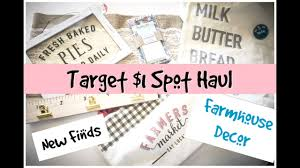 farmhouse decor target target dollar spot haul farmhouse decor