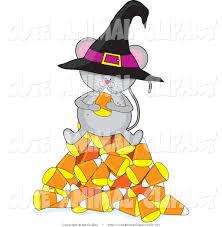 halloween cartoon clip art vector cartoon clip art of a cute gray mouse wearing a black