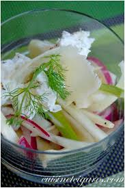 cuisiner du fenouil frais salade de fenouil à l huile de colza et chèvre frais cuisine et