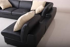 canape cuir 4 places canapé d angle cuir verone canapé d angle en cuir noir 4 places