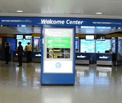 Ewr Terminal Map Welcome Center Now Open In Terminal C Arrivals Yelp