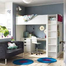 Bunk Bed With Desk Ikea Desks Full Loft Bed With Desk Wood Loft Bed With Desk Bunk Beds