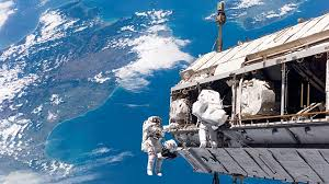 space shuttle astronaut space shuttle endeavour spacewalk not easy say astronauts