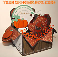 thanksgiving 2014 cards busy with the cricky thanksgiving thank you box card