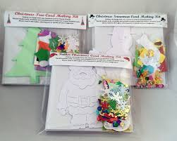 children u0027s card father christmas card making kit fun exclusive