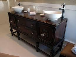 Repurposed Furniture For Bathroom Vanity Diy Bathroom Vanity How To Repurpose Furniture In A Bathroom