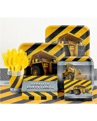 construction party supplies don t miss this bargain birthday zone construction birthday party