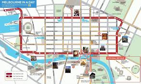 melbourne tram map melbourne in a day a guide for those on experience oz