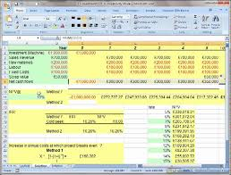 Project Finance Term Sheet Exle by Term Project Evaluation Npv In Excel