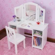 Kid Vanity Table And Chair Mesmerizing Diy Vanity For Little Girl Gallery Best Idea Home