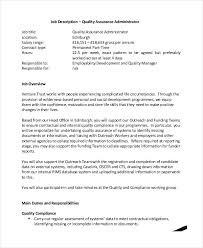 quality manager resume quality assurance resume example resume