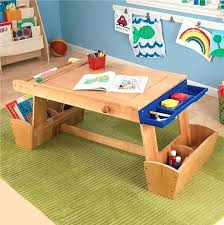 activity table with storage childrens wooden activity table nhmrc2017 com
