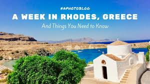a week in island greece photos and things you need to