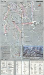 New England Area Map by 1980 81 Killington Trail Map New England Ski Map Database