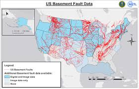 Fault Lines United States Map by Fault Data Resources Energy Data Exchange Edx