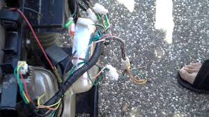 hotwire a 4 wire ignition for mini bike youtube