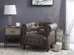 faux leather chesterfield sofa granger faux leather tufted chesterfield chair u0026 reviews birch lane