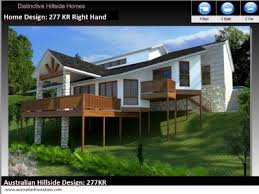 steep hillside house plans collections of house plans for downward sloping lots free home