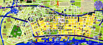 Chicago Tourist Map Seattle Attraction Map Chicago Map