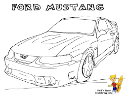 100 ford mustang coloring pages racing car mustang coloring