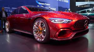 mercedes amg concept mercedes amg gt concept fastback coupe revealed at 2017 geneva