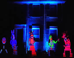 Halloween House Decorations Uk by Best Halloween Light Show Five Nights At Freddy U0027s