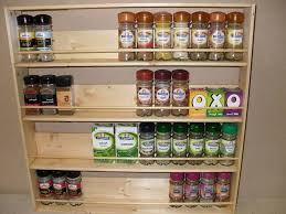 Wood Wall Mount Spice Rack Lovely Inspiration Gallery From Wooden Wall Mount Spice Rack