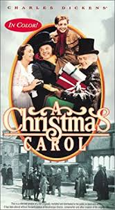 amazon com a christmas carol colorized vhs reginald owen