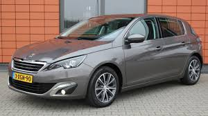 lease a peugeot peugeot 308 1 6 bluehdi blue lease premium xenon panoramadak youtube