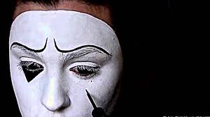 halloween mime makeup mime clown halloween makeup tutorial youtube youtube