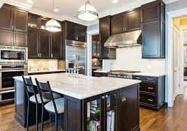 HighEnd Dark Wood Kitchens Photos Designing Idea - Kitchen photos dark cabinets