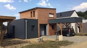 bardage bois claire voie senatuolo en ossature bois plancher charpente toiture murs et