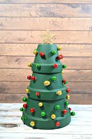 terracotta christmas tree holiday home decor surviving a