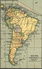 Map Of Central America And South America Maps Of South America