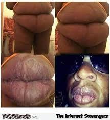 Jay Z Lips Meme - belly looks like jay z s lips funny meme pmslweb