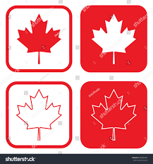 canada coat arms symbol vector illustration stock vector 396869461