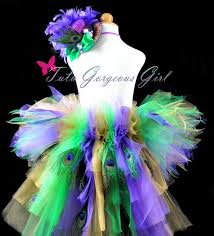 diy mardi gras costumes mardi gras carnival peacock bustle tutu with peacock eye feathers