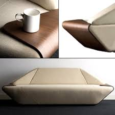 hex u0027 sofa designed by nosigner plywood edges act as tray tables