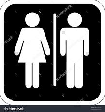 Bathroom Symbols Vintage Bathroom Signs Shabby Bathroom Sign Plaque In A Heritage