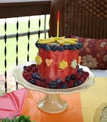 Watermelon Cake Decorating Ideas Best 25 Melon Cake Ideas On Pinterest Watermelon Cake Fruit