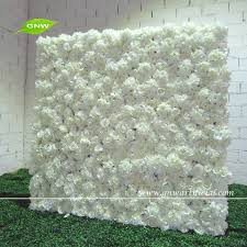 wedding arch kit for sale gnw flw1507 1 guangzhou factory white fabric flower wall