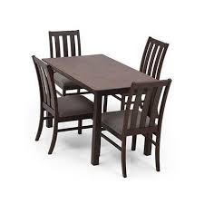 dining table set 4 seater deluca mini 4 seater dining table set victoria plaza