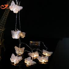 white string lights aliexpress buy white metal butterfly lighting fish led white